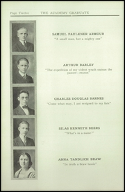 Page 14, 1921 Edition, Newburgh Free Academy - Graduate Yearbook (Newburgh, NY) online yearbook collection