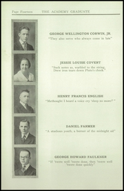 Page 16, 1921 Edition, Newburgh Free Academy - Graduate Yearbook (Newburgh, NY) online yearbook collection