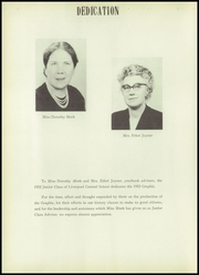 Page 8, 1952 Edition, Liverpool High School - Hiawathan Yearbook (Liverpool, NY) online yearbook collection