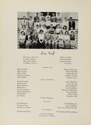 Page 14, 1952 Edition, Grover Cleveland High School - Log Yearbook (Ridgewood, NY) online yearbook collection