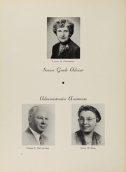 Page 8, 1952 Edition, Grover Cleveland High School - Log Yearbook (Ridgewood, NY) online yearbook collection