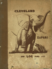 1955 Edition, Grover Cleveland High School - Log Yearbook (Ridgewood, NY)