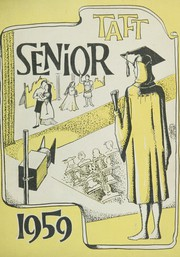 1959 Edition, William Howard Taft High School - Senior Yearbook (Bronx, NY)