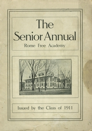Page 1, 1911 Edition, Rome Free Academy - De O Wain Sta Yearbook (Rome, NY) online yearbook collection