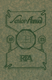 Page 1, 1923 Edition, Rome Free Academy - De O Wain Sta Yearbook (Rome, NY) online yearbook collection