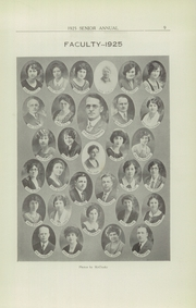 Page 11, 1925 Edition, Rome Free Academy - De O Wain Sta Yearbook (Rome, NY) online yearbook collection