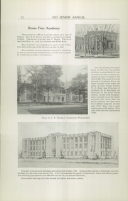 Page 14, 1925 Edition, Rome Free Academy - De O Wain Sta Yearbook (Rome, NY) online yearbook collection