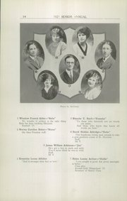 Page 16, 1925 Edition, Rome Free Academy - De O Wain Sta Yearbook (Rome, NY) online yearbook collection