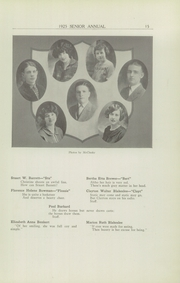 Page 17, 1925 Edition, Rome Free Academy - De O Wain Sta Yearbook (Rome, NY) online yearbook collection