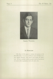Page 12, 1931 Edition, Rome Free Academy - De O Wain Sta Yearbook (Rome, NY) online yearbook collection