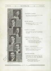 Page 16, 1934 Edition, Rome Free Academy - De O Wain Sta Yearbook (Rome, NY) online yearbook collection