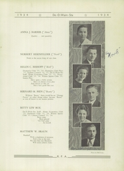 Page 17, 1934 Edition, Rome Free Academy - De O Wain Sta Yearbook (Rome, NY) online yearbook collection