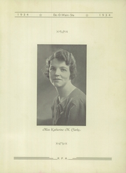 Page 7, 1934 Edition, Rome Free Academy - De O Wain Sta Yearbook (Rome, NY) online yearbook collection