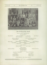 Page 8, 1934 Edition, Rome Free Academy - De O Wain Sta Yearbook (Rome, NY) online yearbook collection