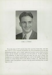 Page 12, 1945 Edition, Rome Free Academy - De O Wain Sta Yearbook (Rome, NY) online yearbook collection