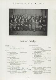 Page 13, 1945 Edition, Rome Free Academy - De O Wain Sta Yearbook (Rome, NY) online yearbook collection