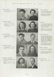 Page 17, 1945 Edition, Rome Free Academy - De O Wain Sta Yearbook (Rome, NY) online yearbook collection