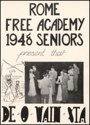 Page 5, 1948 Edition, Rome Free Academy - De O Wain Sta Yearbook (Rome, NY) online yearbook collection
