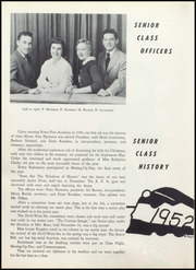 Page 14, 1952 Edition, Rome Free Academy - De O Wain Sta Yearbook (Rome, NY) online yearbook collection