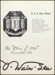 Page 7, 1952 Edition, Rome Free Academy - De O Wain Sta Yearbook (Rome, NY) online yearbook collection