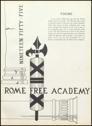 Page 5, 1955 Edition, Rome Free Academy - De O Wain Sta Yearbook (Rome, NY) online yearbook collection