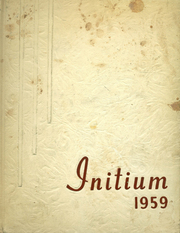 Page 1, 1959 Edition, Syosset High School - Initium Yearbook (Syosset, NY) online yearbook collection