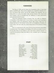 Page 6, 1959 Edition, Syosset High School - Initium Yearbook (Syosset, NY) online yearbook collection