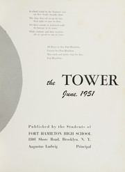 Page 9, 1951 Edition, Fort Hamilton High School - Tower Yearbook (Brooklyn, NY) online yearbook collection