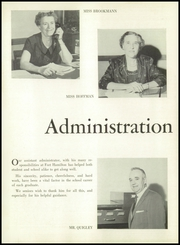Page 6, 1957 Edition, Fort Hamilton High School - Tower Yearbook (Brooklyn, NY) online yearbook collection