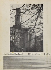 Page 6, 1960 Edition, Fort Hamilton High School - Tower Yearbook (Brooklyn, NY) online yearbook collection