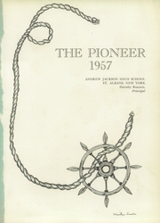 Page 5, 1957 Edition, Andrew Jackson High School - Pioneer Yearbook (Cambria Heights, NY) online yearbook collection