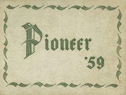 Andrew Jackson High School - Pioneer Yearbook (Cambria Heights, NY) online yearbook collection, 1959 Edition, Page 1