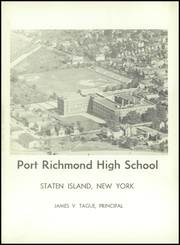 Page 5, 1958 Edition, Port Richmond High School - Soundings Yearbook (Staten Island, NY) online yearbook collection