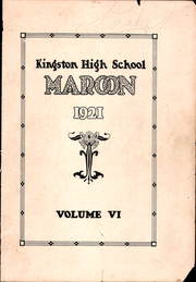 Page 1, 1921 Edition, Kingston High School - Maroon Yearbook (Kingston, NY) online yearbook collection