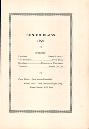 Page 11, 1921 Edition, Kingston High School - Maroon Yearbook (Kingston, NY) online yearbook collection