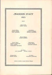 Page 9, 1921 Edition, Kingston High School - Maroon Yearbook (Kingston, NY) online yearbook collection