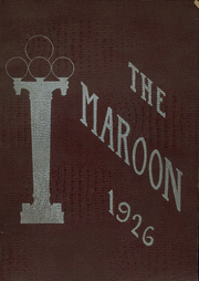 Page 1, 1926 Edition, Kingston High School - Maroon Yearbook (Kingston, NY) online yearbook collection