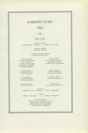 Page 13, 1926 Edition, Kingston High School - Maroon Yearbook (Kingston, NY) online yearbook collection