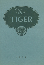 1932 Edition, Spring Valley High School - Tiger Yearbook (Spring Valley, NY)