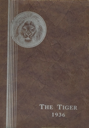 1936 Edition, Spring Valley High School - Tiger Yearbook (Spring Valley, NY)