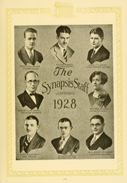 Page 13, 1928 Edition, Philadelphia College of Osteopathic Medicine - Synapsis Yearbook (Philadelphia, PA) online yearbook collection