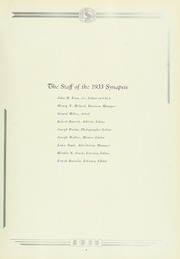 Page 13, 1933 Edition, Philadelphia College of Osteopathic Medicine - Synapsis Yearbook (Philadelphia, PA) online yearbook collection