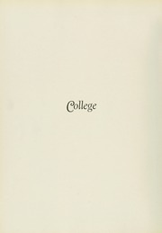 Page 14, 1933 Edition, Philadelphia College of Osteopathic Medicine - Synapsis Yearbook (Philadelphia, PA) online yearbook collection