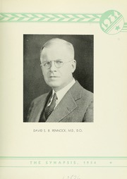 Page 11, 1934 Edition, Philadelphia College of Osteopathic Medicine - Synapsis Yearbook (Philadelphia, PA) online yearbook collection