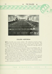 Page 17, 1934 Edition, Philadelphia College of Osteopathic Medicine - Synapsis Yearbook (Philadelphia, PA) online yearbook collection