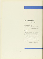 Page 14, 1938 Edition, Philadelphia College of Osteopathic Medicine - Synapsis Yearbook (Philadelphia, PA) online yearbook collection