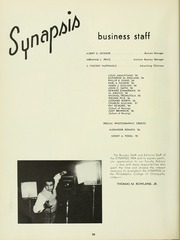Page 110, 1954 Edition, Philadelphia College of Osteopathic Medicine - Synapsis Yearbook (Philadelphia, PA) online yearbook collection