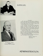 Page 9, 1957 Edition, Philadelphia College of Osteopathic Medicine - Synapsis Yearbook (Philadelphia, PA) online yearbook collection