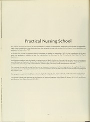Page 204, 1970 Edition, Philadelphia College of Osteopathic Medicine - Synapsis Yearbook (Philadelphia, PA) online yearbook collection