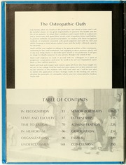 Page 14, 1971 Edition, Philadelphia College of Osteopathic Medicine - Synapsis Yearbook (Philadelphia, PA) online yearbook collection